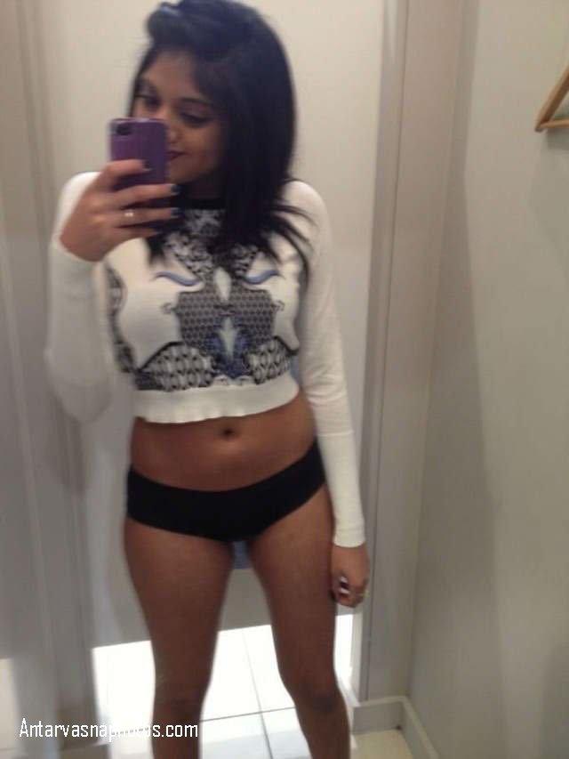 sexy black panty ka trial